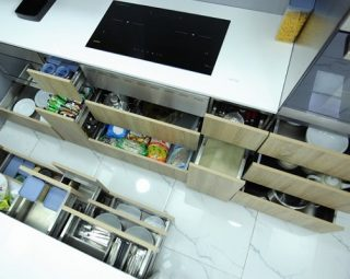 Module tủ bếp - Bếp inox Sanko